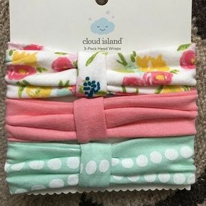 Baby Girl 3-Pack  Head Wraps